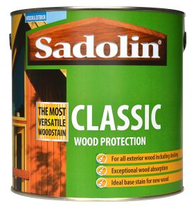 Sadolin Classic Wood Protection for exterior wood and decking
