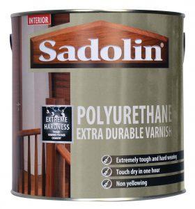 Sadolin Polyurethane Extra Durable Varnish