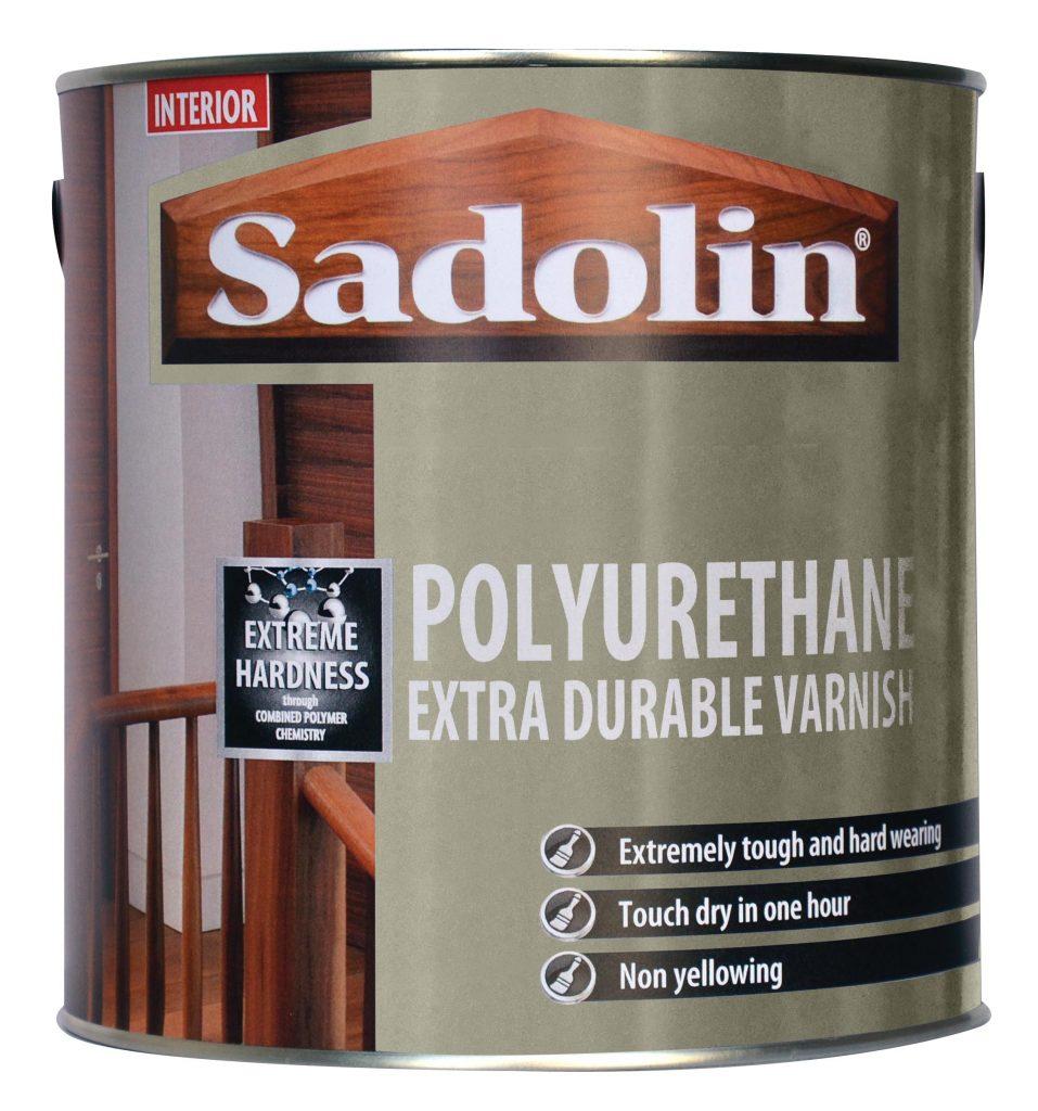 Polyurethane Extra Durable Varnish Sadolin Wood Protection