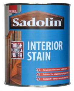 Sadolin interior, quick drying, woodstain
