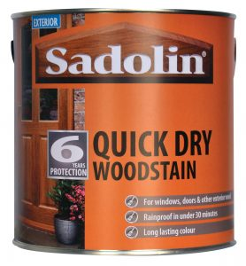 Sadolin Quick Dry Woodstain for windows and doors