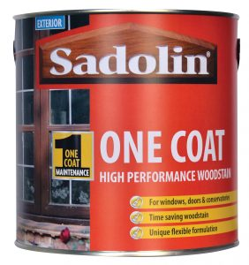 Sadolin One Coat Woodstain for windows, doors and conservatories
