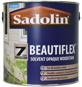 Sadolin Beautiflex colours for all exterior wood