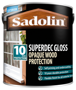 Sadolin Superdec Gloss, 10 Year Wood Paint