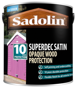 Sadolin Superdec Satin, 10 Year Wood Paint